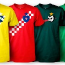 Designing a Shirt for Every World Cup Team.