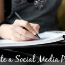 Managing Social Media – Your Daily Action Plan