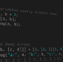 ES6 Destructuring Assignment cannot Start a Line with Object Destructuring