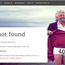 404 pages from popular sites — Design Inspiration