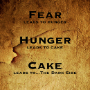 Cake is the path to…The Dark Side!