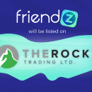 Friendz announces its collaboration with The Rock Trading Ltd.