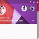 Material Design Navigation Drawer II: Styling
