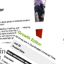 What does a growth editor do?