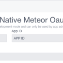 React Native Meteor: OAuth with Facebook