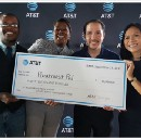 Paratransit Pal won $40,000 at AT&T's Atlanta Civic Coding Challenge and gave it all to charity