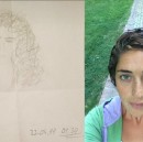 I used to sketch portraits of the girl I was going to marry when I was younger.