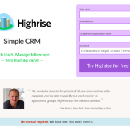 Marketing Design — How we improved our conversion rate at Highrise
