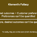 Klement's Fallacy Misleads The Jobs-to-be-Done Community