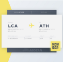 Boarding Pass UI Concepts by Dribbble Designers
