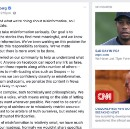 I found it interesting that when I went to read Zuckerberg's post about misinformation, there were…