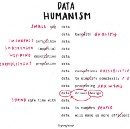 Data Humanism, the Revolution will be Visualized.