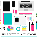 Eight tips to be happy at work