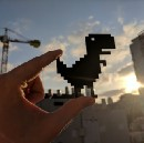 I Saw a Dinosaur, or How I Built a Real-Life Version of Chrome T-Rex Game