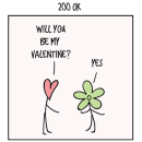 HTTP codes as Valentine's Day comics