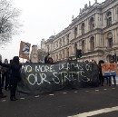 Homelessness activists shut down central London this weekend to say: #NoMoreDeathsOnOurStreets