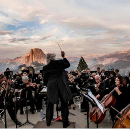Acclaimed actor turns to music, makes Mariposa smallest town with symphony orchestra