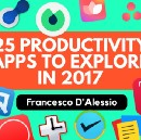 25 Productivity Apps to Watch in 2017