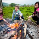 Microadventures with children