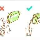 Think Outside the Box, Milk Inside the Cup