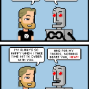 💾 tonight's comic is dedicated to you, my cyber chums