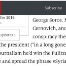 Fake News Watch — The Economist Can't Even Fact-Check a Quote
