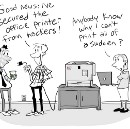 One way to secure your printer [CARTOON]