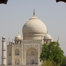 What got Taj Mahal a place in the '7 Wonders of the World' list ?