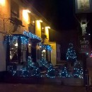 Even the pubs want to sparkle at Christmas