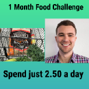 Food Challenge: Spend 2.50 a day on food May 2017