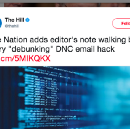 'The Nation' Helps The Establishment, Adds Massive Editor's Note To Its VIPS Article