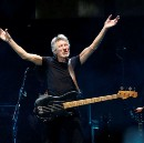 Roger Waters attacks Trump and Israel in California concert