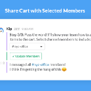 Speed up Kip Selections with Slack Message Menus