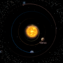 The Solstice starts Northern Summer, the old Moon visits Morning Venus and Occults Aldebaran in…