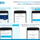 Self-declared Paytm merchants can now accept up to Rs. 50,000 in their bank account