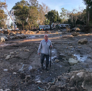 """My Father-in-Law's Home in Ruin in California Mudslides — """"Like a Good Neighbor, State Farm is…"""