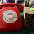Machine Learning and a Raspberry Pi Inside a Classic 1970's GPO Telephone