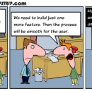 Product development and the 'One more feature' complete waste of time.