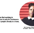 Coworker story #2. Meet Tobi, a London coworker sharing her insights on the benefits of coworking