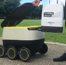 Self-driving robots to deliver your Pronto