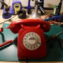 A Retro Rotary Phone Powered by AIY Projects and the Raspberry Pi