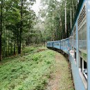 On board the train from Kandy to Badulla