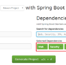Spring Boot + Spring MVC + Spring Security + MySQL