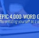 The Epic 4,000-Word Guide to Differentiating Yourself as a Writer