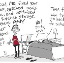 Mama, do let your babies grow up to be problem solvers [CARTOON]