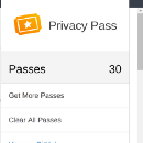 Privacy Pass: A browser extension for anonymous authentication