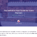 """Pretty Instant mention in Ben Hindman's """"Definitive App Guide For Event Planners"""""""