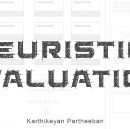 Introduction to Heuristic Evaluation
