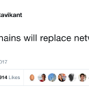 "Naval Ravikant's Tweetstorm, ""Blockchains will replace networks with markets"""