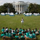 In Pictures: The First-Ever White House Campout